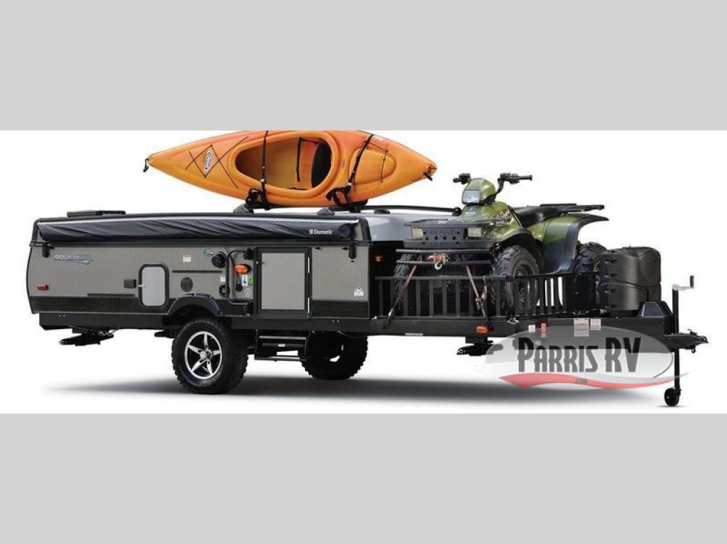 Forest River Rockwood Extreme Sports Toy Hauler Pop-Up ...