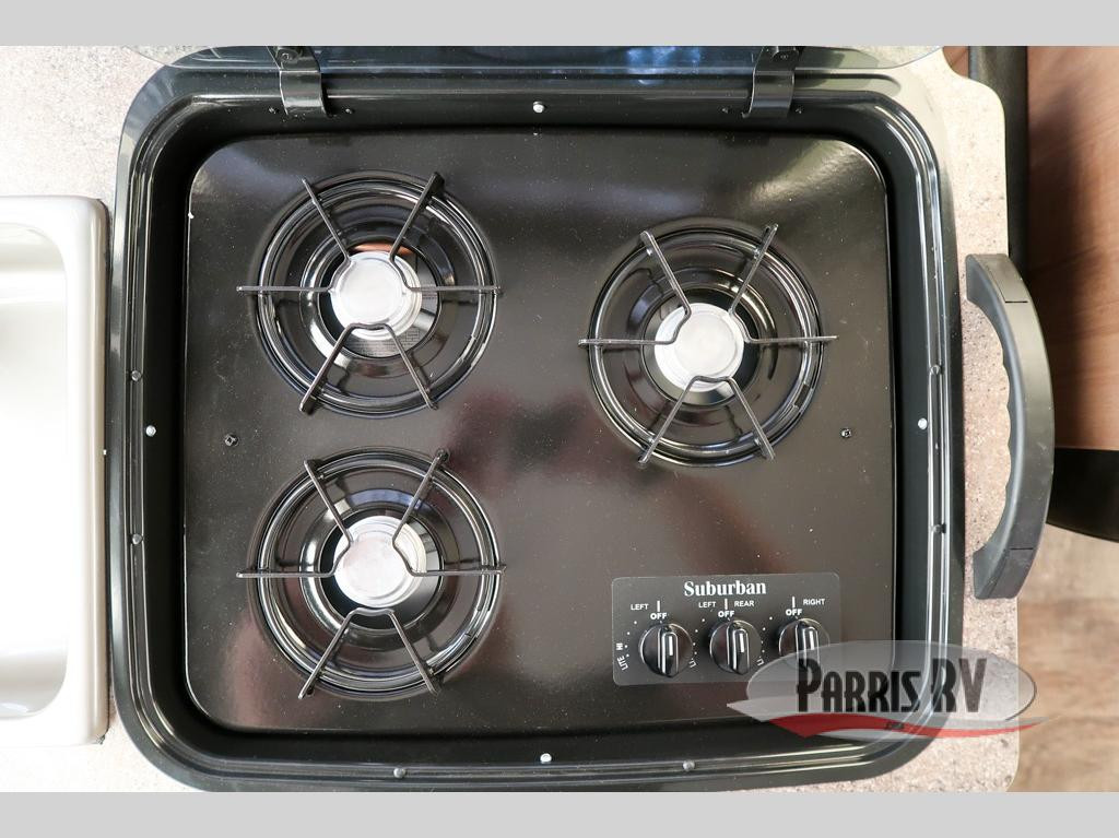 Parris RV Forest River Rockwood Premier Cooktop