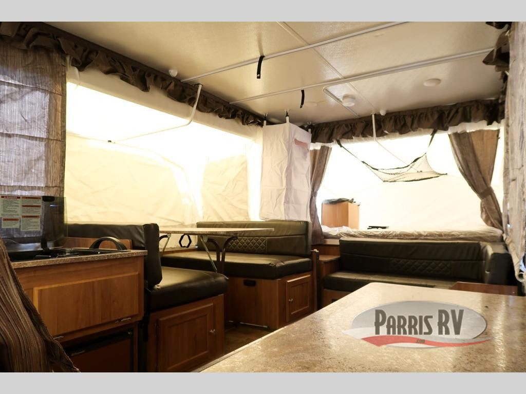 Parris RV Forest River Rockwood Premier Interior
