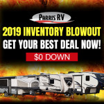 Parris RV Inventory Blowout