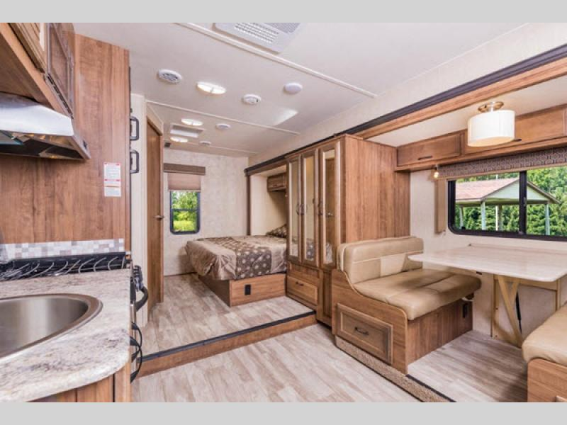 Gulf Stream Conquest Class C motorhome interior