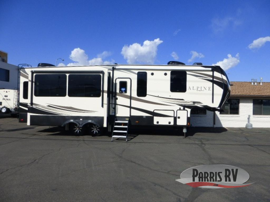 Keystone RV Alpine Fifth Wheel Exterior