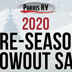 Parris RV Blowout Sale Banner
