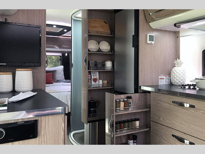 nuCamp AVIA Travel Trailer interior