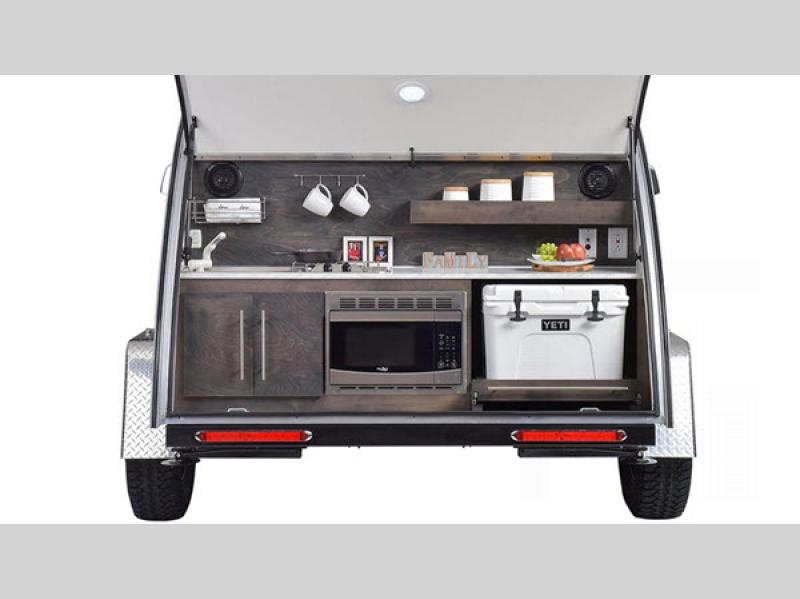nuCamp TAG Teardrop Trailer Outdoor Kitchen