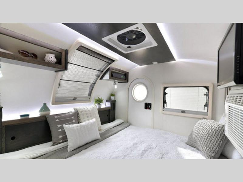 nuCamp TAG Teardrop Trailer Interior