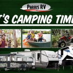 Camping Time Banner