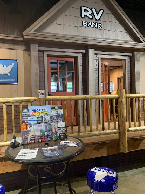 Stop by our Indoor Showroom to meet with a camping specialist and our financing department!
