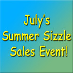 July Summer Sizzle Sales Event