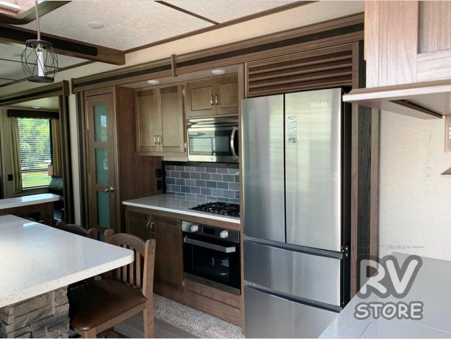 new 2020 keystone rv retreat kitchen