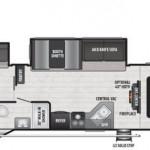 NEW 2021 KEYSTONE RV HIDEOUT 318BR