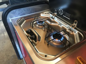 Intech RV Explore burners