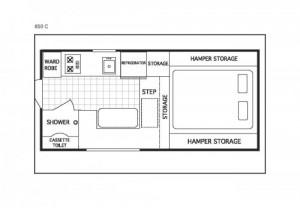 Northstar 850 SC Floorplan