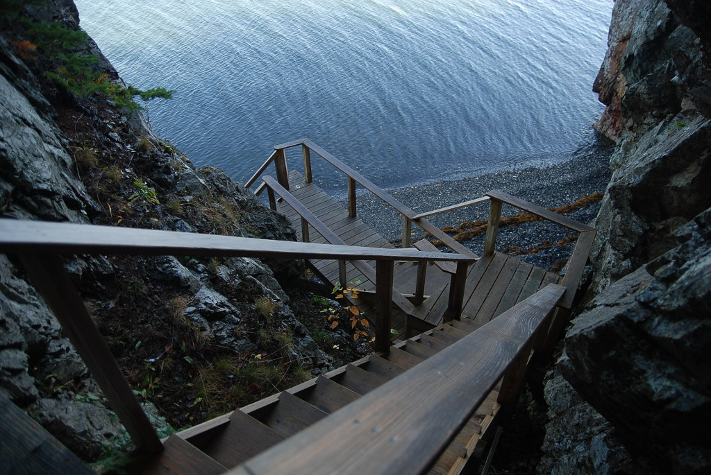 bar harbor stairs