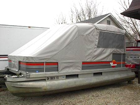 pontoon tent enclosure & Turn Your Pontoon Into a Camping Tent - Rocky Mountain RV and ...