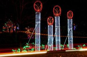 Krodel Park Light Display