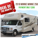 January Deal of the Month – Minnie Winnie 25B