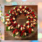 Caprese Salad Wreath