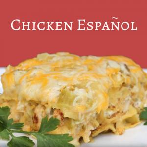 Chicken Espanol