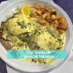 Eggs Benedict with Green Chile Hollandaise