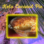 Keto Coconut Pie