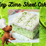 Key Lime Sheet Cake for Potlucks