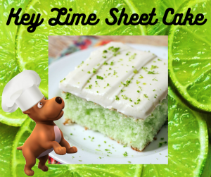 Key Lime Sheet Cake