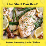 Lemon, Rosemary Garlic Chicken