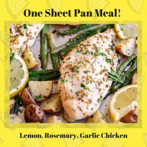 Lemon, Rosemary Garlic Chicken