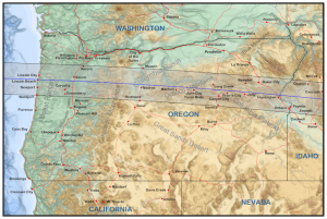 Oregon Eclipse Track