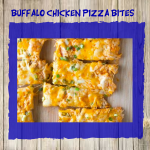 Buffalo Chicken Pizza Bites