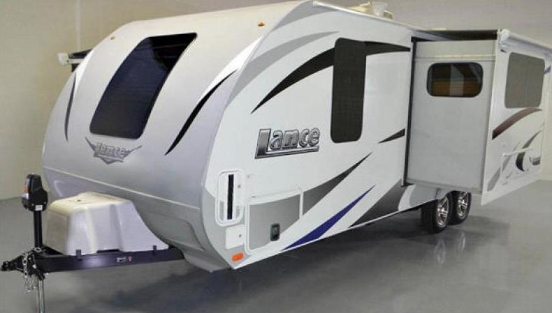 lance travel trailer for sale
