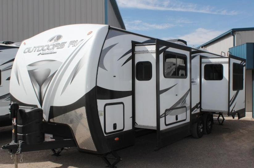 black stone travel trailer
