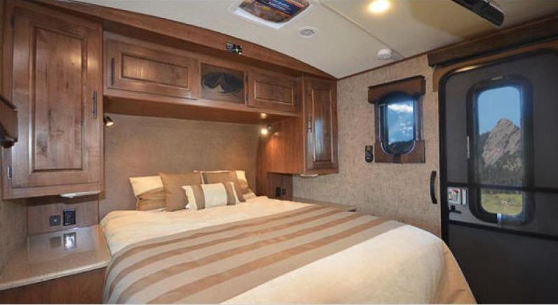 bedroom titanium travel trailer