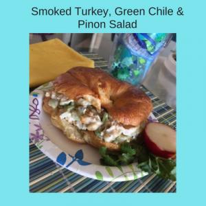 Smoked Turkey, Green Chile & Pinon Salad