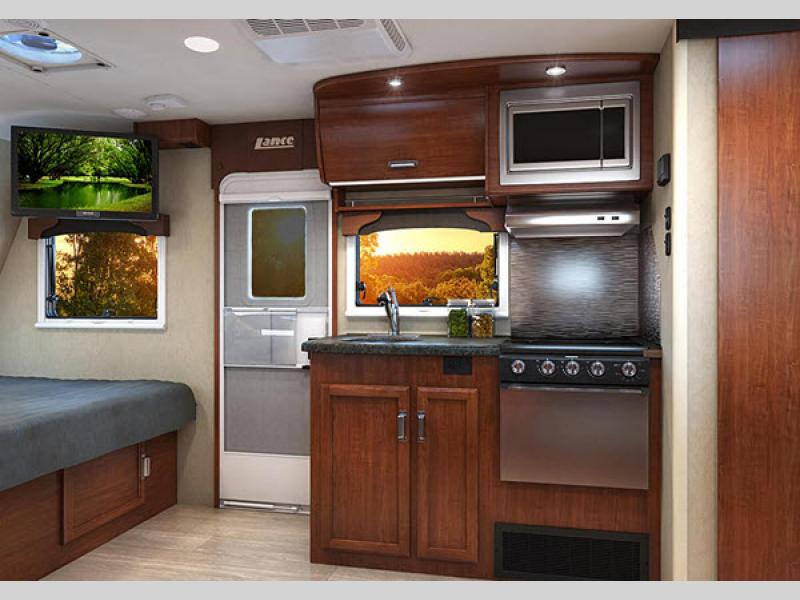 lance travel trailer kitchen