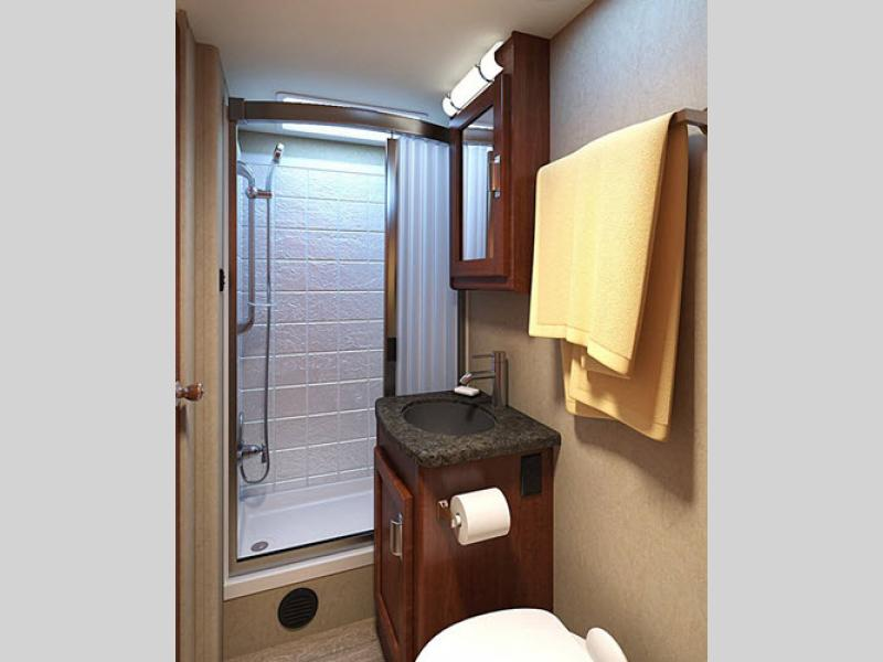 bathroom lance travel trailer