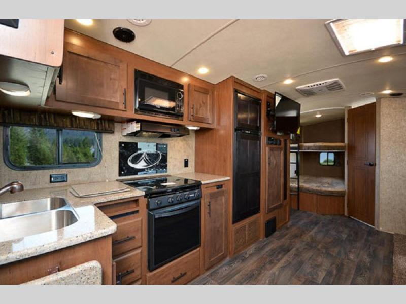 timber ridge travel trailer kitchen