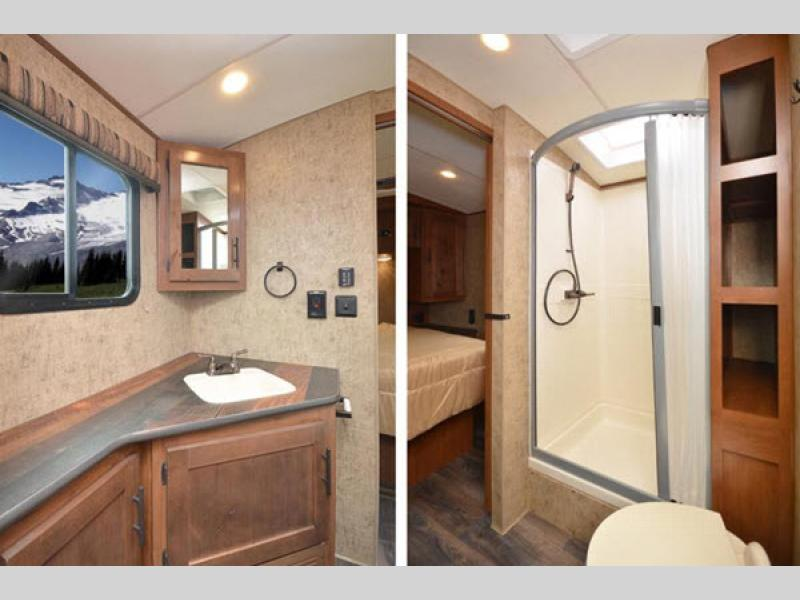 bathroom timber ridge travel trailer