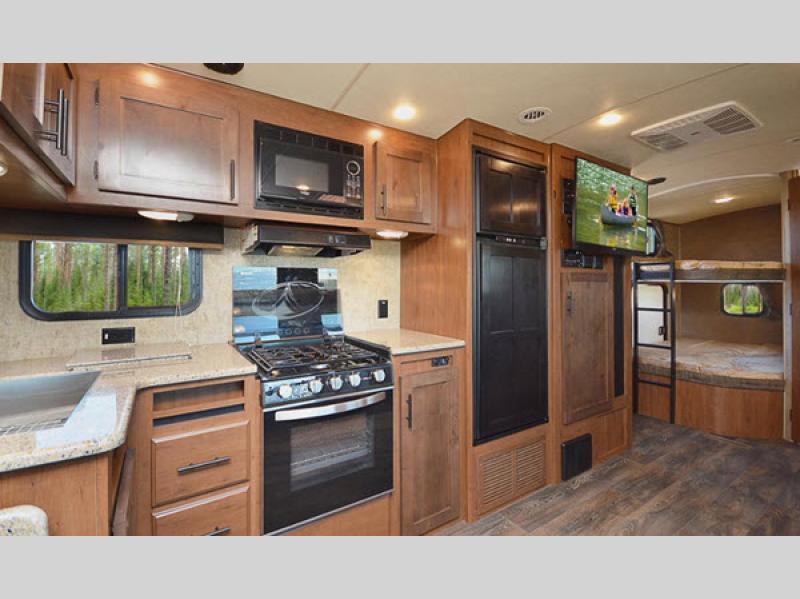 kitchen Timber Ridge Mountain Series Travel Trailer