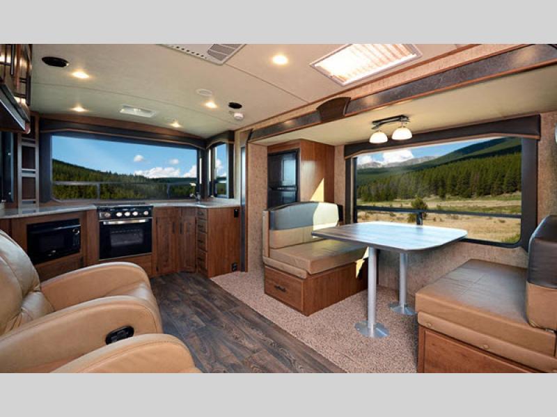 Timber Ridge Mountain Series Travel Trailer living room