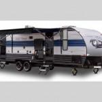 Cherokee grey wolf travel trailer