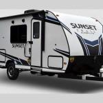 crossroads sunset trailer travel trailer