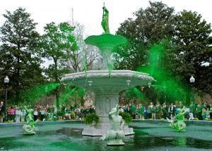 St. Patty's Fountain
