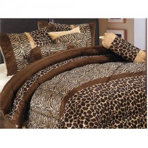 Animal Print Bedspread