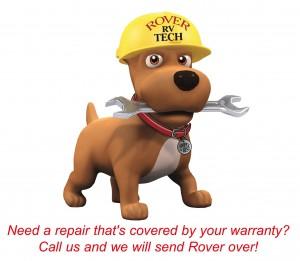 Mobile Warranty Repair truck
