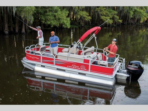 Sun Tracker Bass Buggy Pontoon Boat