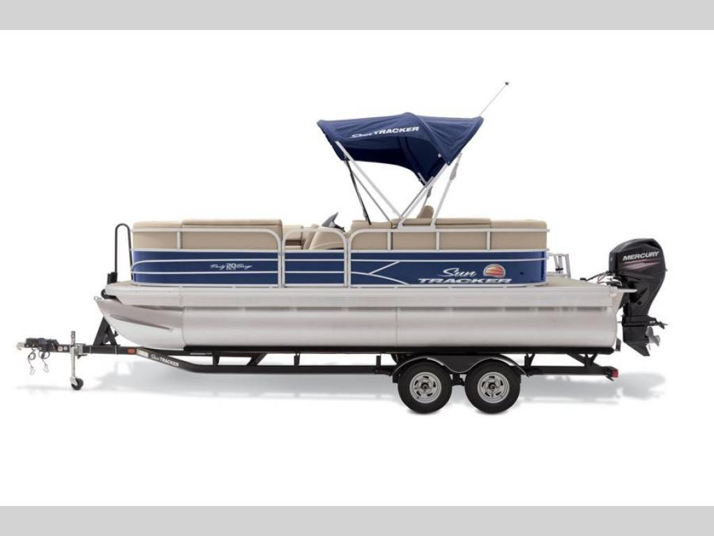 New 2019 Tracker Marine Sun Tracker Party Barge 20DLX
