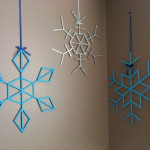 popsicle snowflake decorations