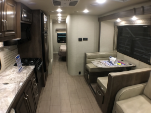 2019 Jayco Melbourne Kitchen and Dining area